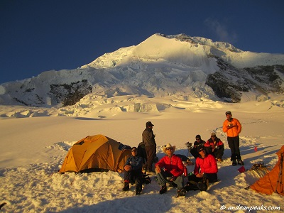 High Camp Huascaran