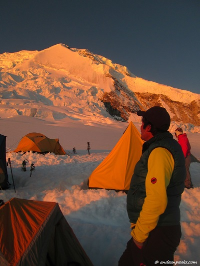High Camp  of Nevado Huascaran