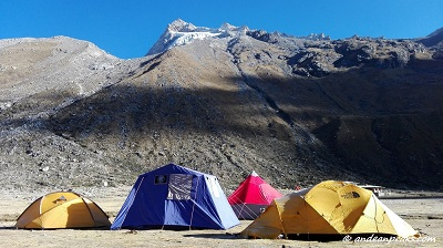 Base Camp - Valley Ishinca